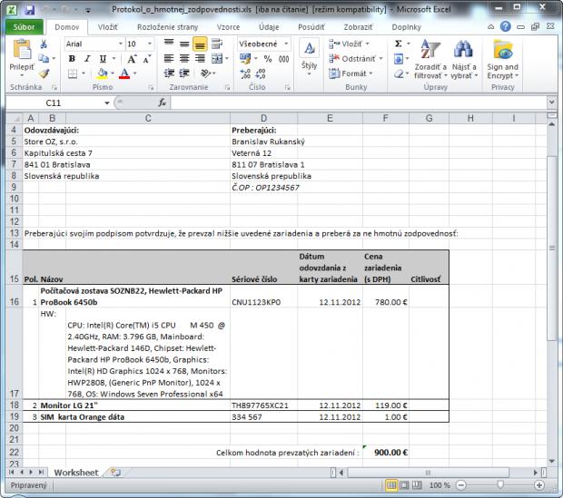 Protokol o hmotnej zodpovednosti .xls