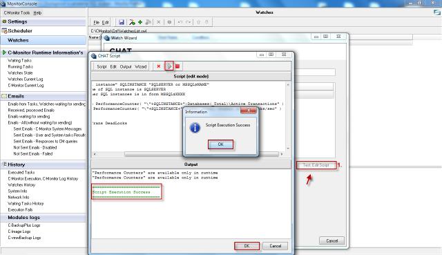 Vytvorenie a otestovanie funkčnosti scriptu