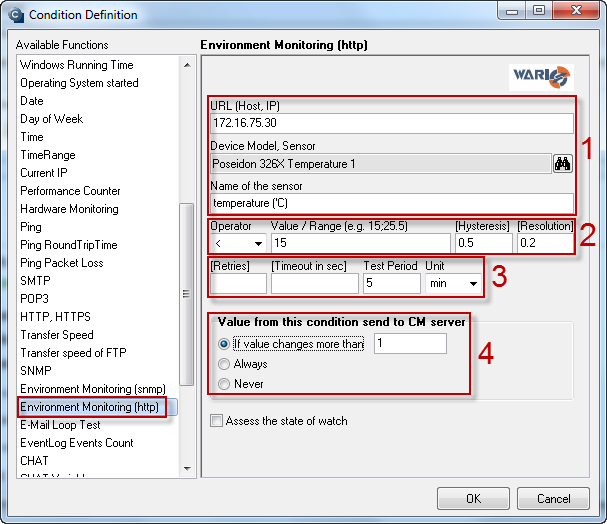 Obrázok: Enviroment Monitoring (HTTP)