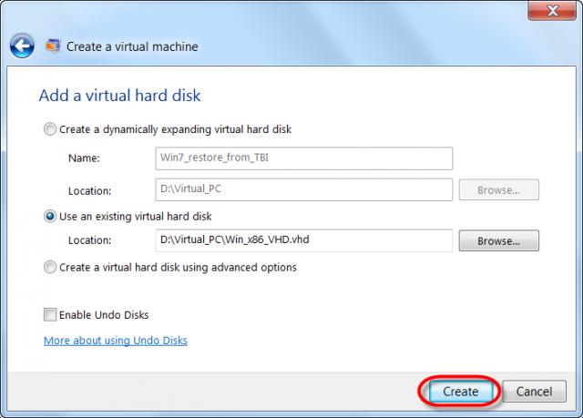 Použitie skonvertovaného VHD z C-Image zálohy ako primárneho disku
