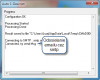 Priebeh autodescriptu fáza odosielania výsledných informácií na email